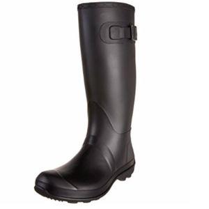 NWT Black Kamik women's rain boots